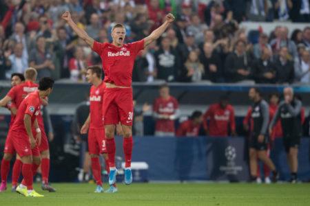 Ganz Fußball-Europa feiert diesen jungen Norweger, Erling Braut Håland von RB Salzburg.