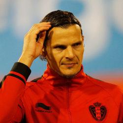 Daniel van Buyten machte zwischen 2001 und 2014 insgesamt 84 Länderspiele für Belgien.