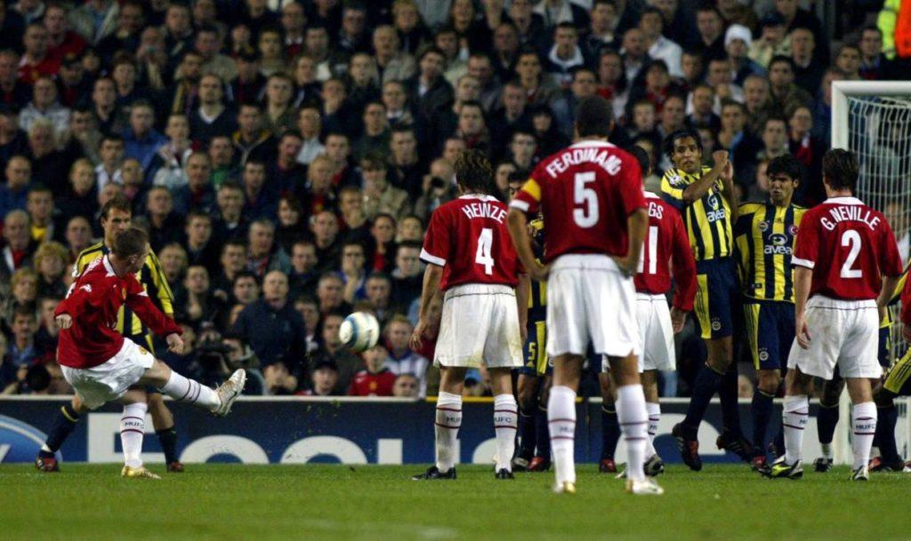 Er kam wie ein Tornado: Wayne Rooney bei seinem Champions-League-Debüt am 28. September 2004. Foto: Copyright: imago/Geoff Martin