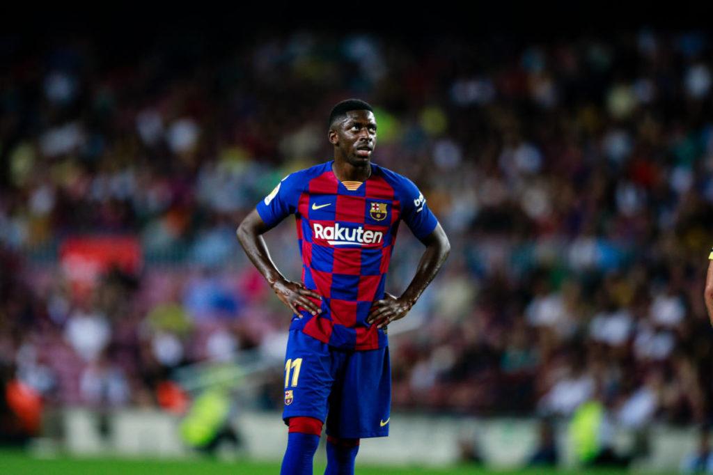 Auch Ousmane Dembélé zog bei Borussia Dortmund die Streik-Option und spielt seit 2017 für den FC Barcelona...