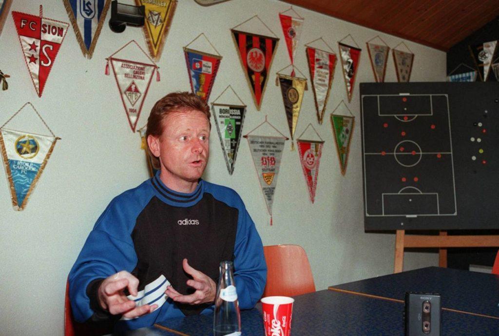 Rolf Fringer - Meister mit dem FC Aaraua.