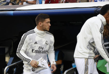 Luka Jovic steht bei Real Madrid in der Kritik.