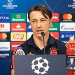 Niko Kovac stellte bei der Pressekonferenz vor dem Spiel in Piräus einiges klar...