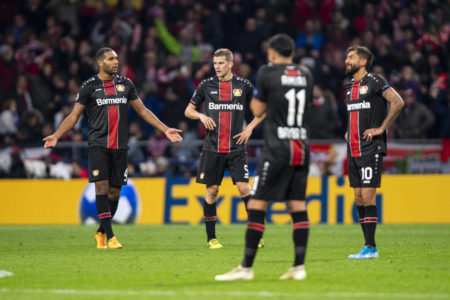 Bayer Leverkusen in der Champions League 2019/2020: Die pure Ratlosigkeit.