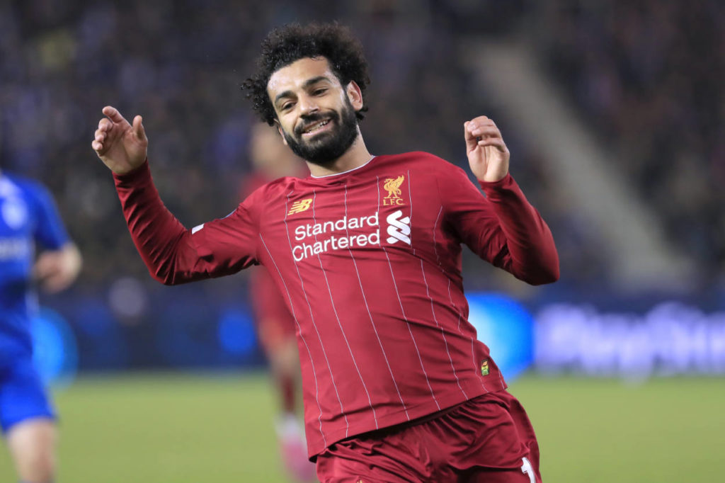 Mo Salah, hier beim Champions-League-Spiel des FC Liverpool in Genk (4:1) verletzte sich gegen Tottenham Hotspur.