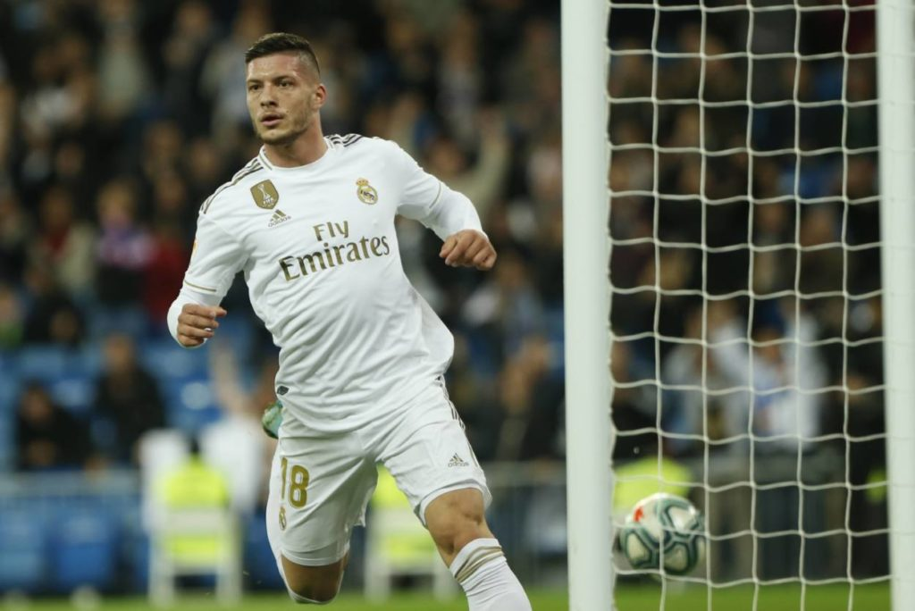 Luka Jovic trifft endlich auch bei Real Madrid.