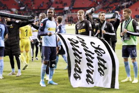 Übt Marcus Thuram von Borussia Mönchengladbach schon den Meister-Jubel?