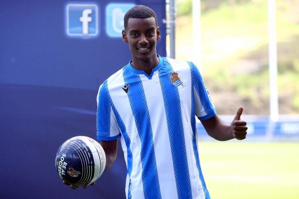 Alexander Isak BVB Real Sociedad San Sebastián