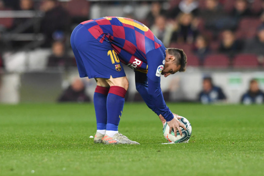 latest on Lionel Messi's Barcelona exit clause
