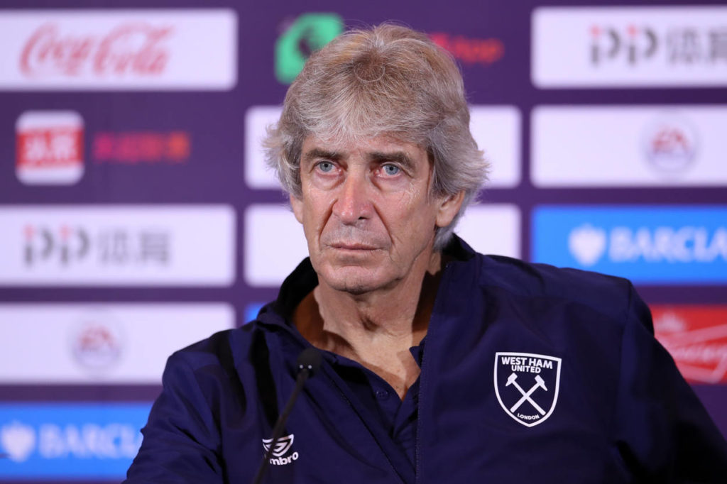 The Hammers might be interested in replacing Manuel Pellegrini with Carlo Ancelotti
