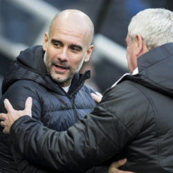 Pep Guardiola Mancester City Newcastle United