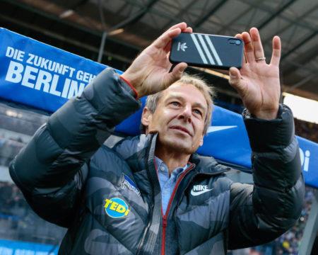 Hertha BSC BVB Jürgen Klinsmann