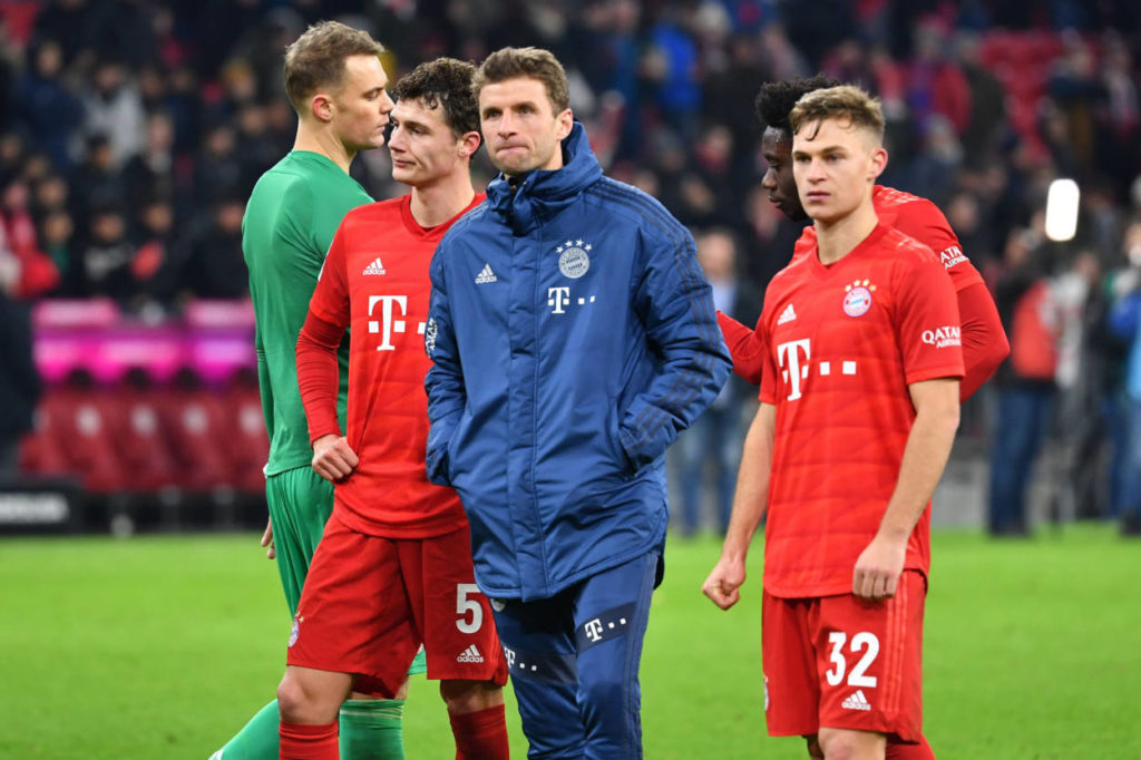 FC Bayern München Bayer Leverkusen Thomas Müller