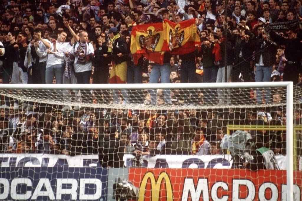 Madrid, 1. April 1998: Hat doch gar nicht so lange gedauert mit dem Ersatztor! Nur 76 Minuten…