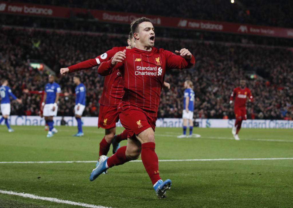 Xherdan Shaqiri FC Liverpool, FC Everton
