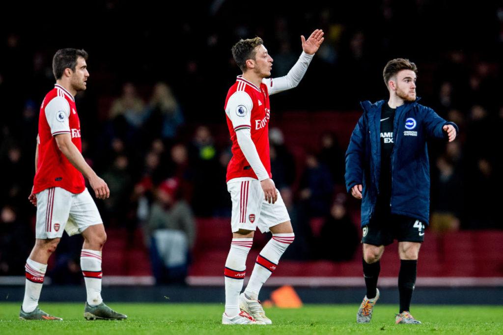 FC Arsenal Brighton & Hove Albion Mesut Özil