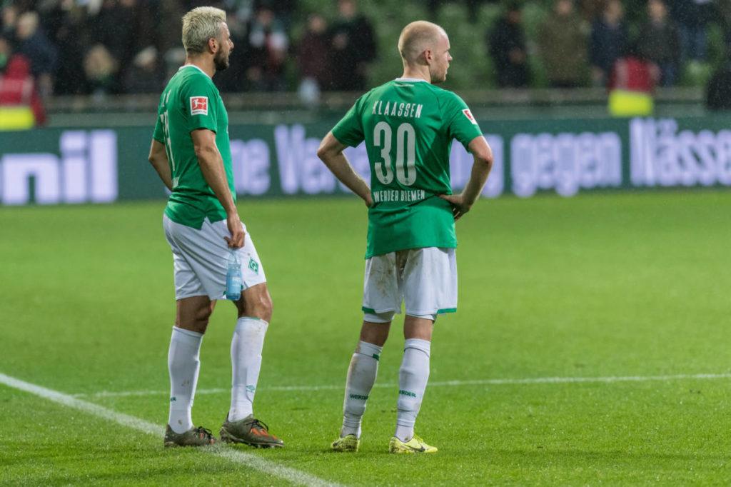 Werder Bremen Claudio Pizarro SC Padeborn