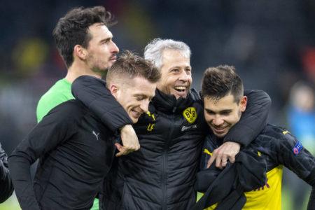 Lucien Favre BVB Borussia Dortmund - Slavia Prag
