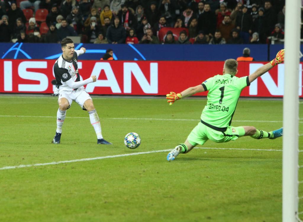 Cristiano Ronaldo Bayer Leverkusen Champions League