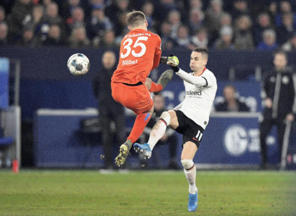 FC Schalke 04 Eintracht Frankfurt Alexander Nübel Mijat Gacinovic