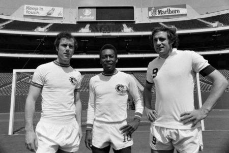 Franz Beckenbauer Cosmos New York