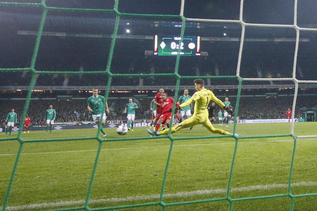Werder Bremen Mainz 05 Robin Quaison