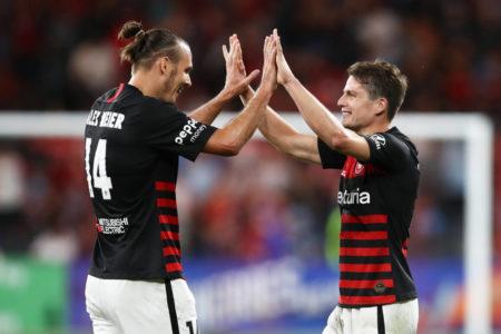 Western Sydney Wanderers Alexander Meier Pirmin Schwegler