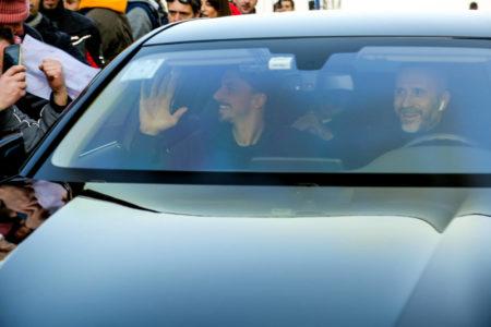 Ibrahimovic Mailand Ankunft