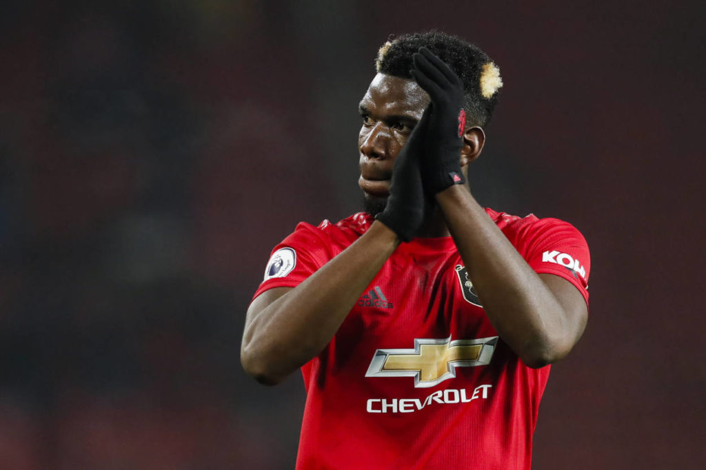 Paul Pogba drops hint on Man Utd future