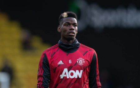 Pogba has been named in the Man United squad for the knockout stages of Europa League
