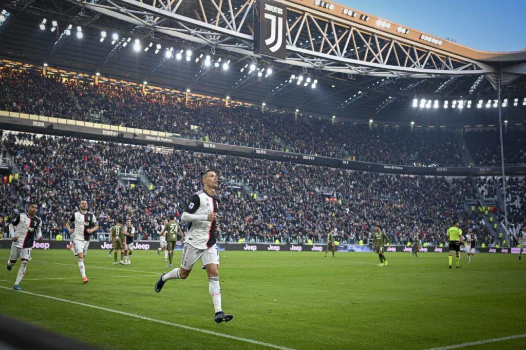 Cristiano Ronaldo Juventus Turin - Cagliari 4:0