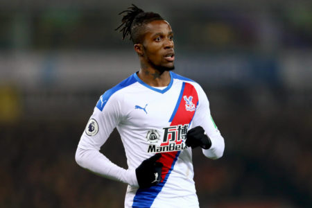 Chelsea transfer target Wilfried Zaha is reportedly in talks with Bayern Munich