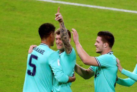 Toni Kroos Supercup Real Madrid