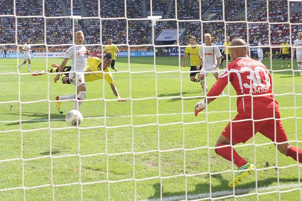 Pierre-Emerick Aubameyang BVB FC Augsburg