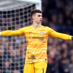 Kepa Arizzabalaga has the lowest save percentage of any Premier League goalkeeper this term