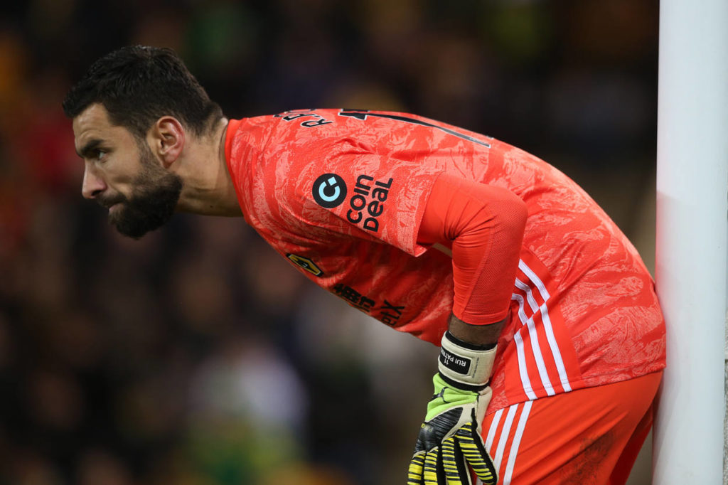 Rui Patricio is 3rd on the list of the worst goalkeepers in the Premier League