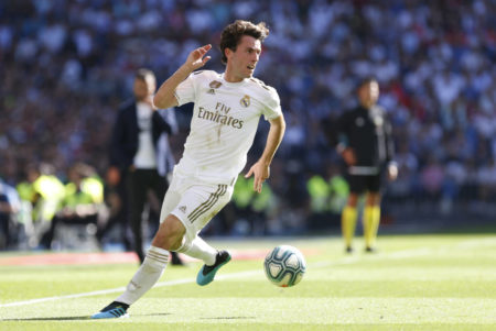 Real Madrid right back Alvaro Odriozola is attracting transfer interest