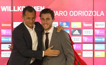Alvaro Odriozola FC Bayern München