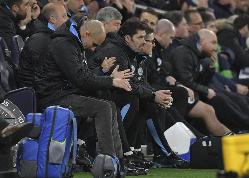 Pep Guardiola Tottenham Hotspur Manchester Ciy