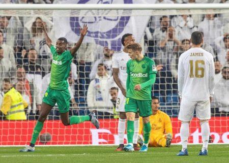 Real Madrid - Real Sociedad San Sebastian 3:4
