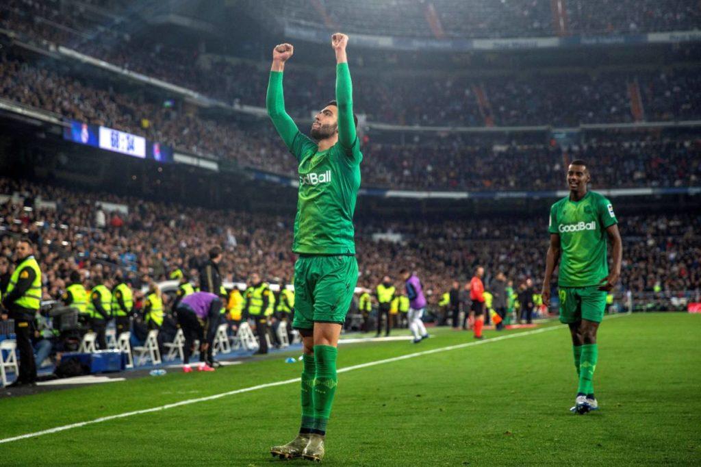 Mikel Merino Alexander Isak Real Madrid - Real Sociedad San Sebastian 3:4