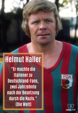"""Helmut Haller: Legende, Ballartist, Standfußballer und """"Dieb"""" des WM-Balls 1966. Foto: Imago Images."""