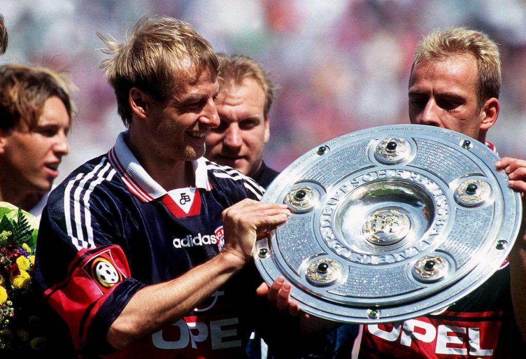 Jürgen Klinsmann Mario Basler FC Bayern München