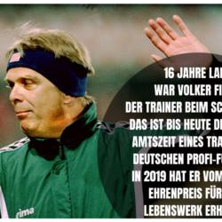 Volker Finke: Legende, Erfolgstrainer, Fußball-Innovator.