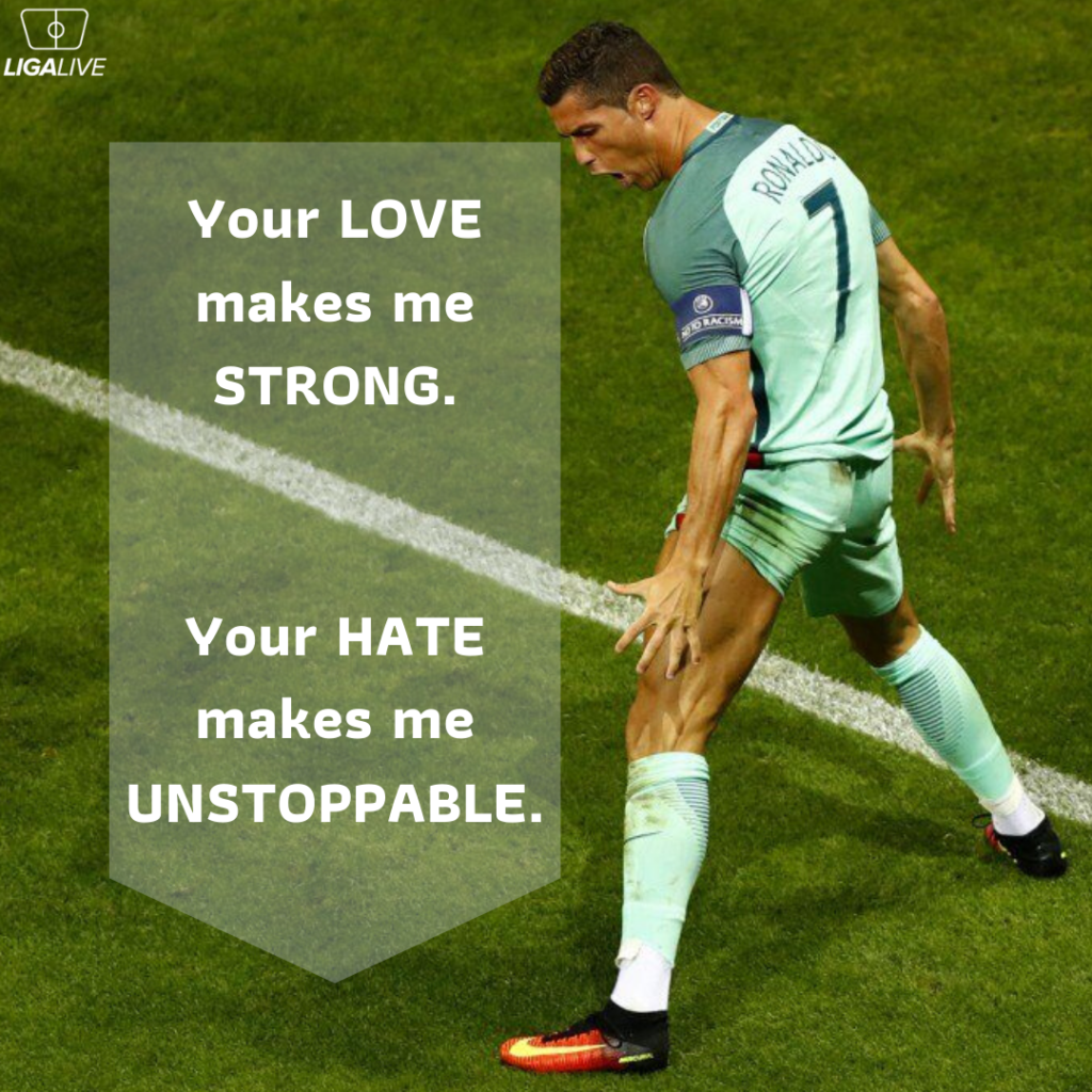 CR7 quote motivational