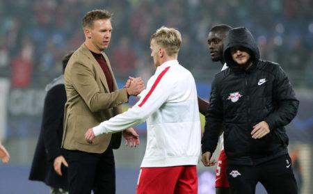 Julian Nagelsmann Emil Forsberg RB Leipzig