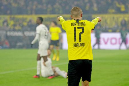 Erling Braut Haaland Borussia Dortmund - Eintracht Frankfurt 4:0