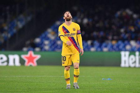 Lionel Messi SSC Neapel - FC Barcelona 1:1