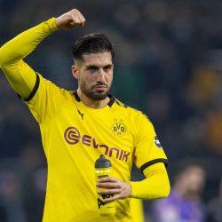 Emre Can Borussia Mönchengladbach - Borussia Dortmund 1:2