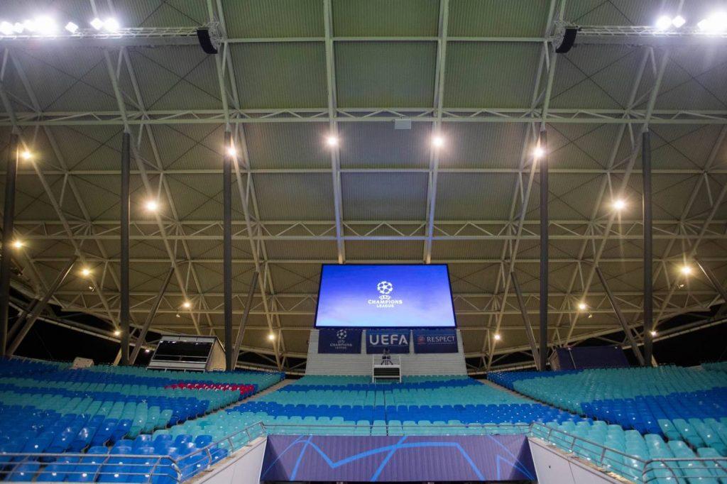 RB Leipzig - Tottenham Hotspur (3:0) Leere Arena